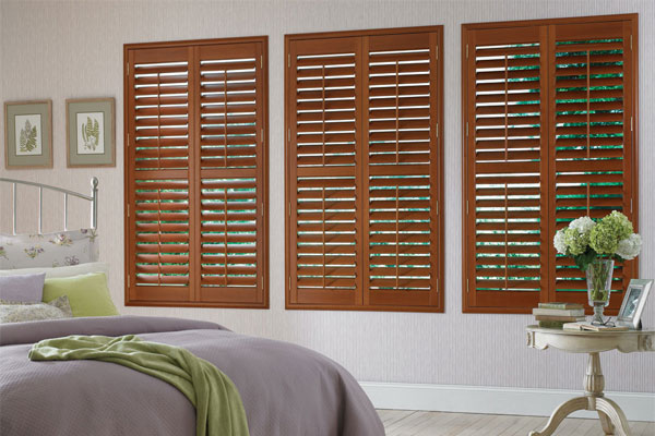 Faux Wood plantation shutters cheshire