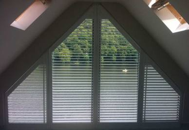 angle shutter for shutters in manchester