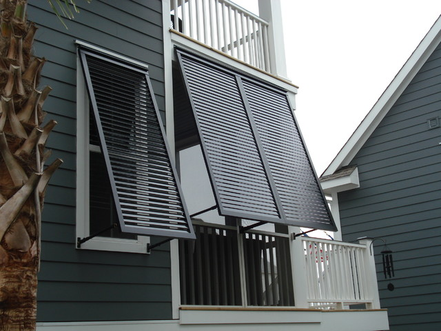 Bahama shutters bahama window shutters shutter boutique for Exterior window weather protection