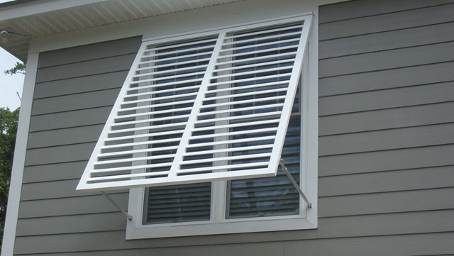 Bahama shutters shutter boutique for Exterior window weather protection